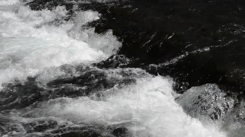 River rapids waterfall P HD 2634 Live Action