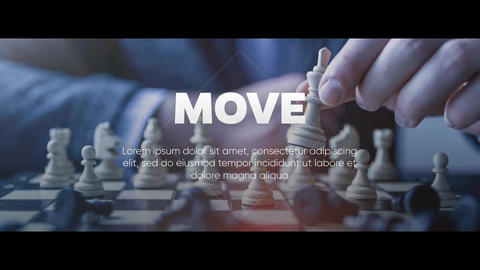 Move - Corporate Presentation After Effects Template