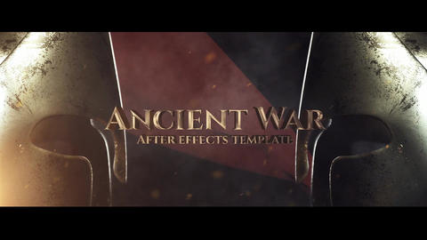 Ancient War After Effects Template