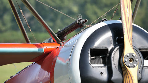 First Wold War Red Triplane Fokker Dr. I Combat Aircraft of the Red Baron Live Action
