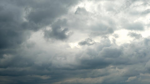 Nature Environment Dark big cloud sky black stormy cloud motion-Time Lapse Live Action