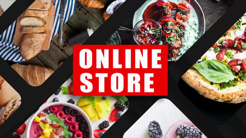 Online Store Promo After Effects Template