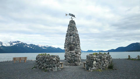 Seward historic marker coast P HD 8406 Live Action