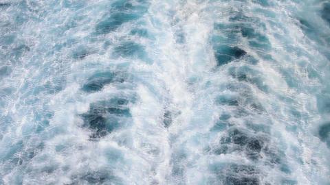 Ship ocean wake P HD 4408 Live Action