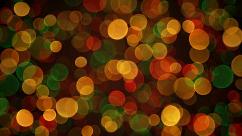 Colorful bokeh circles loopable background Footage