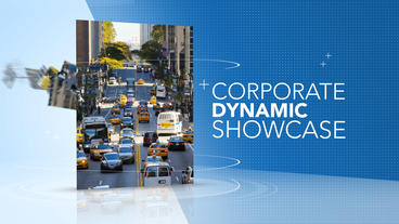 Corporate Dynamic Showcase - After Effects Template After Effects Project
