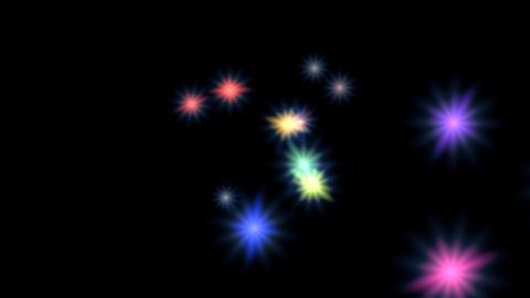 Loop of Rotating Stars CG動画