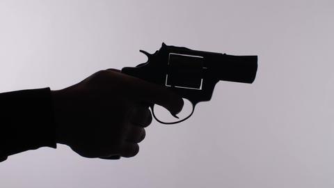 Man shoots from the gun ライブ動画