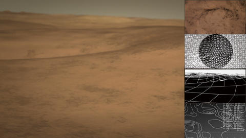 Mars Exploration Vehicle Graphical User Interface Animation Animation