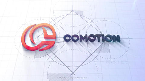 Architect Sketch Logo After Effects Template