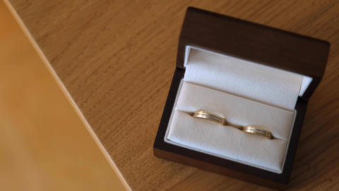 Wedding rings of future newlyweds Live Action