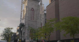 Saint Jacques Cathedral tower exterior Live Action