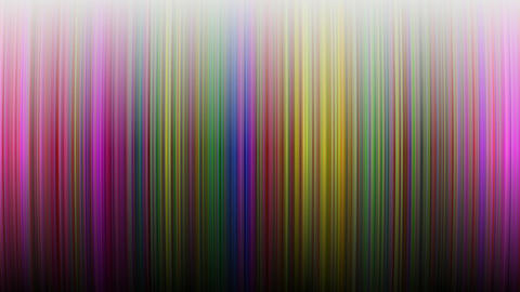 Colorful strips or waves in warm tones. Shadowing and moving warm spectre lines Animation