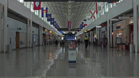 Washington DC Dulles International Airport gate security bike 4K 017 Footage