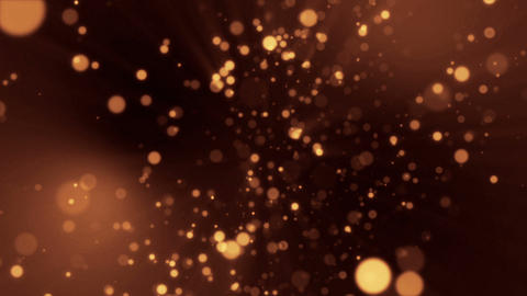 Gold Particles Background 02 Animation