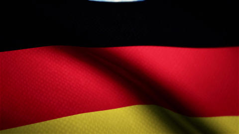 Germany flag CG動画素材