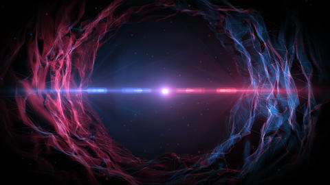 Nebula Abstract Background Animation