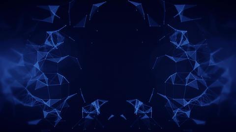 Plexus Background Stock Video Footage