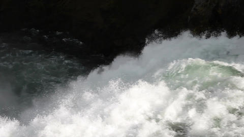 Waterfall top to bottom close P HD 2401 Footage
