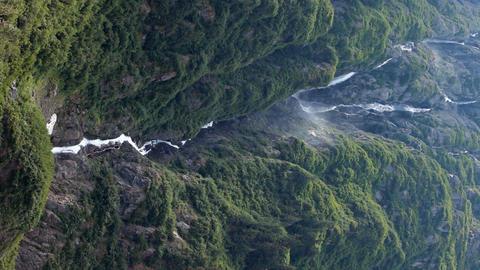 Waterfall tropical Alaska P HD 0176 Live Action