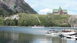 Waterton Park ferry boat P HD 0436 Footage