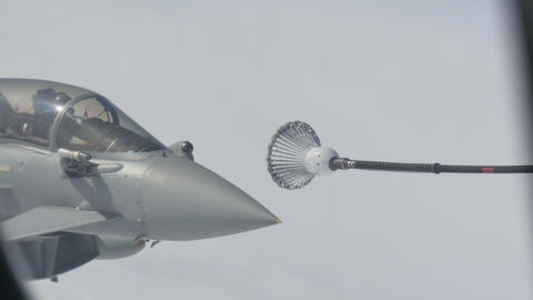 Military Aircraft Aerial Refueling Live Action