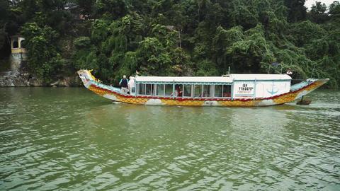 riverside views in Vietnam, Asia Acción en vivo