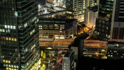 Timelapse Movie from World Trade Center Buildng Tokyo Live Action