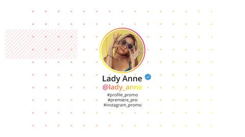 Instagram Profile Promo Premiere Proテンプレート