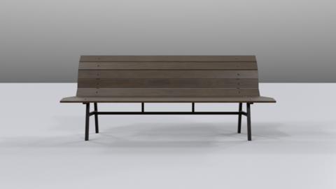 Bench01 Modelo 3D