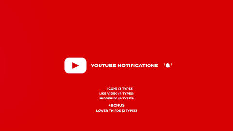 Youtube Notifications Apple Motion Template
