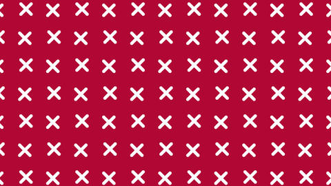 Cross pattern background Animation