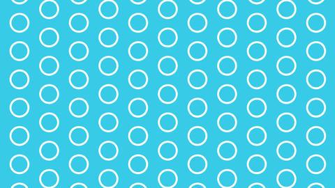 Circle pattern background Videos animados