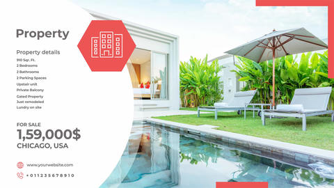 Clean Real Estate After Effects Template