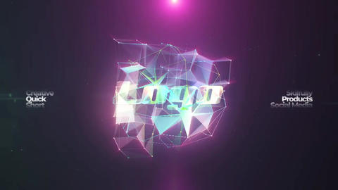 Neon Logo Reveal & Vertical Neon Logo Reveal After Effects Template