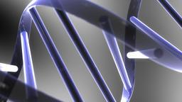 Abstract DNA Molecule Animation