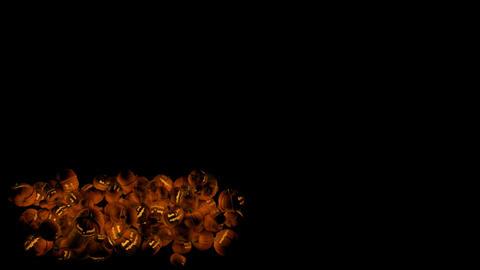 Halloween Pumpkins Lower Thirds Animation