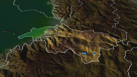Cañar - province of Ecuador. Physical Animation