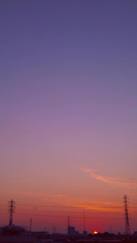 Sunrise Timelapse_portrait Live Action