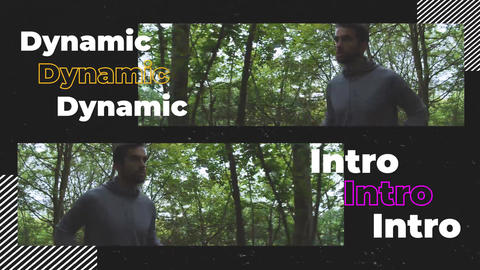 Urban Vlog Opener Premiere Proテンプレート