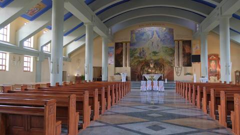 Large Catholic church Live Action
