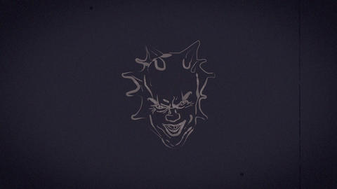 Horror Logo Apple Motion Template