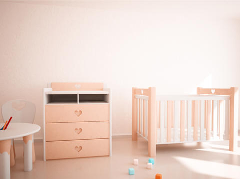 Children's Room Interior Photo
