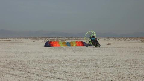 power parachute starting P HD 5295 Footage