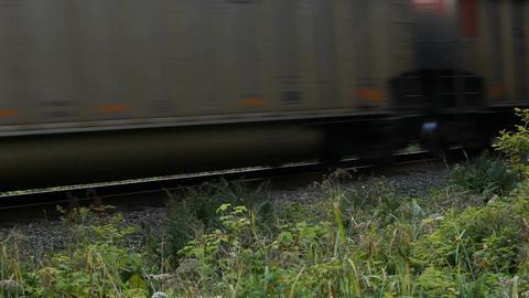 railroad train passing P HD 0360 Live Action