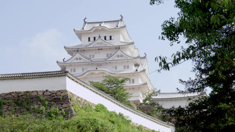 Castle hyougo himeji himejijyou V1-0074 Footage