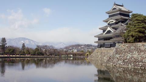 Castle nagano matsumoto matsumotojyou V1-0019 Footage