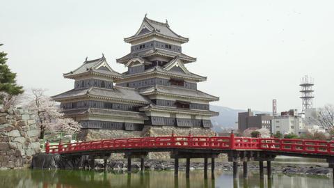 Castle nagano matsumoto matsumotojyou V1-0102 Footage