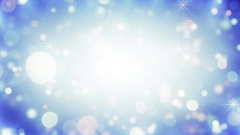 Falling circle bokeh lights loopable holiday background Animation