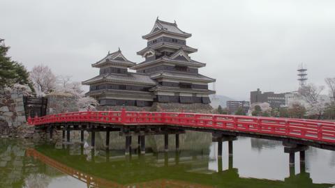 Castle nagano matsumoto matsumotojyou V1-0208 Footage